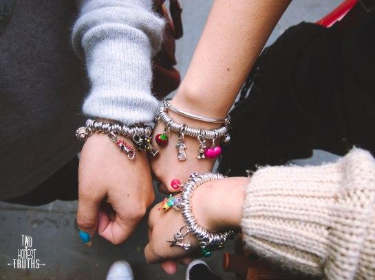 Sister bracelets!